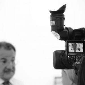 Inauguration usine lors d'un reportage pour banque d'image interne à l'entreprise