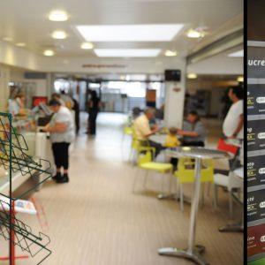 Reportage sur l'espace de vie cafetria/presse d'un établissement hospitalier dans l'indre Image pro Photolouis