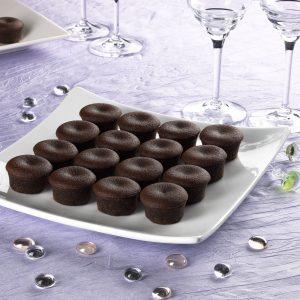 Petits gâteaux au chocolat - Photo de Studio avec mise en ambiance - Image Pro Photolouis